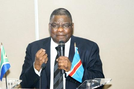 Mr. Luzolo Bambi - Minister of Justice DRC